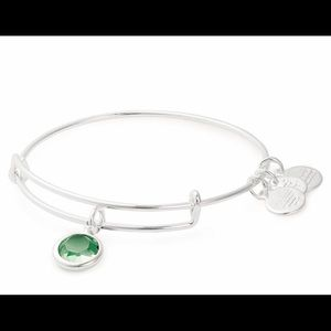 Alex and Ani August Birthstone Charm Bracelet